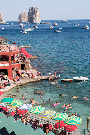 Summer Beach Club in Capri - Every Day Paris