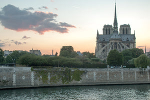 Notre Dame Sunset View - Every Day Paris