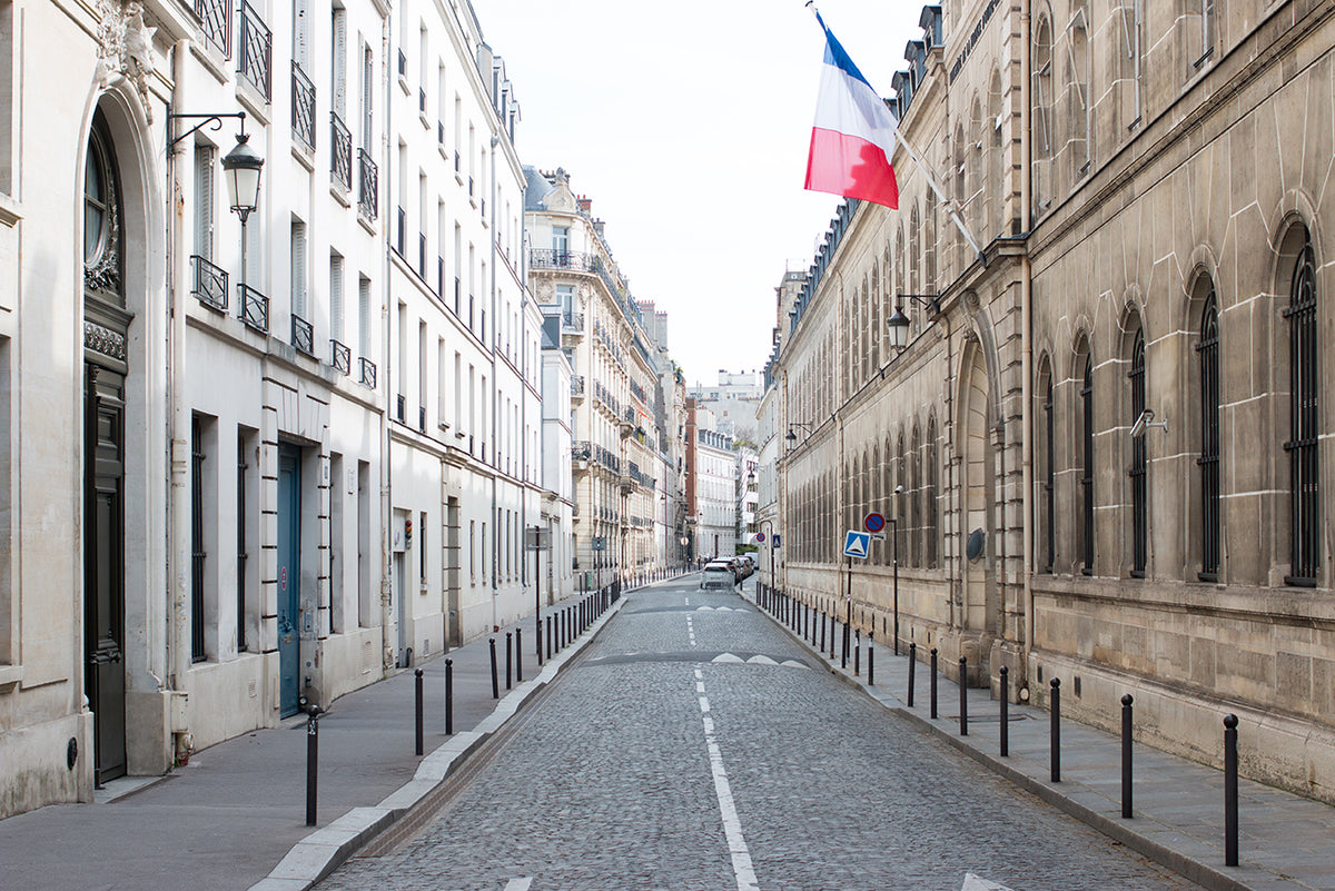 Quiet Street on The Left Bank of Paris - Every Day Paris