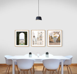 Paris Portrait Print Set of 3