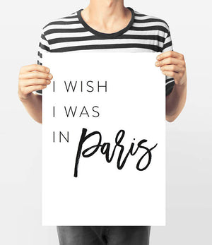I wish I was in Paris - Every Day Paris