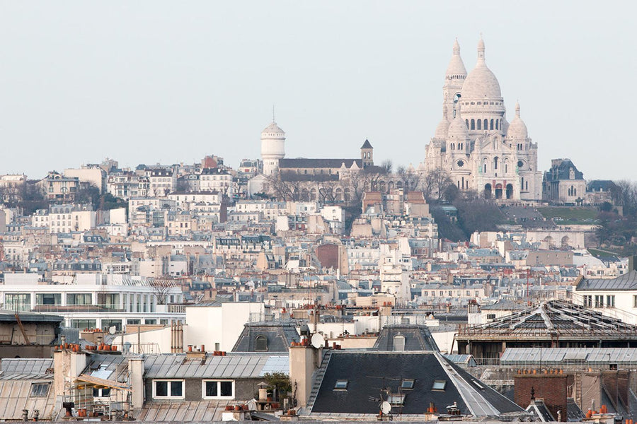Montmartre View in Paris - Every Day Paris