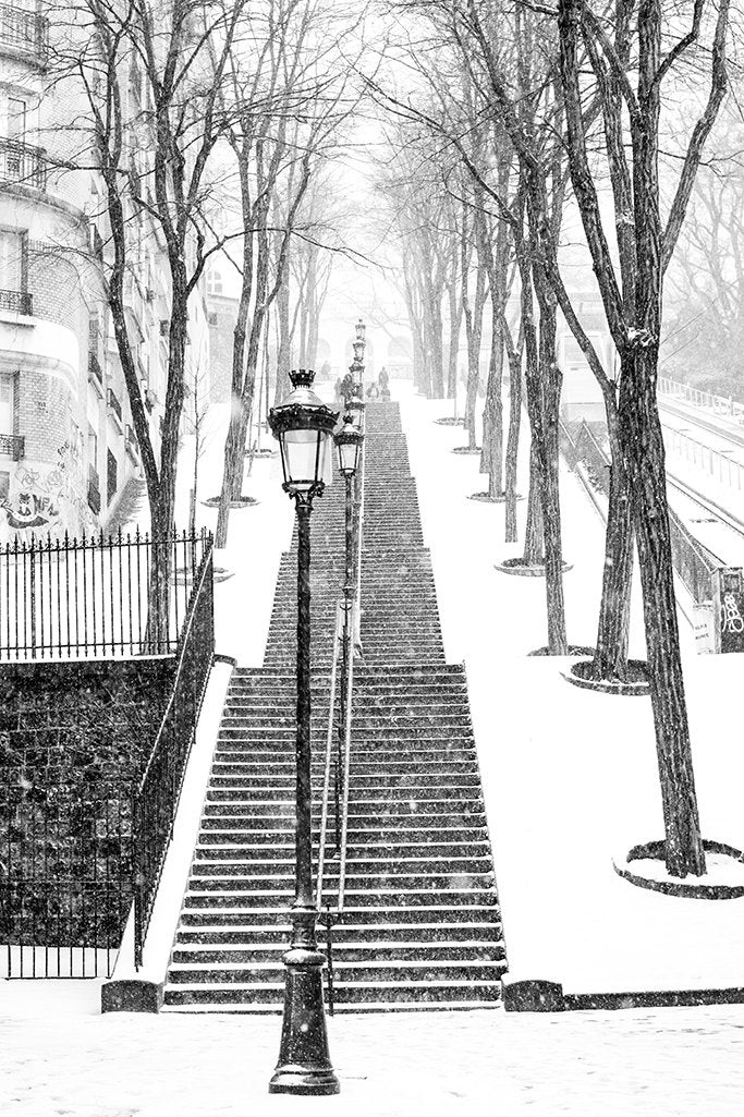 Snowy morning in Montmartre - Every Day Paris