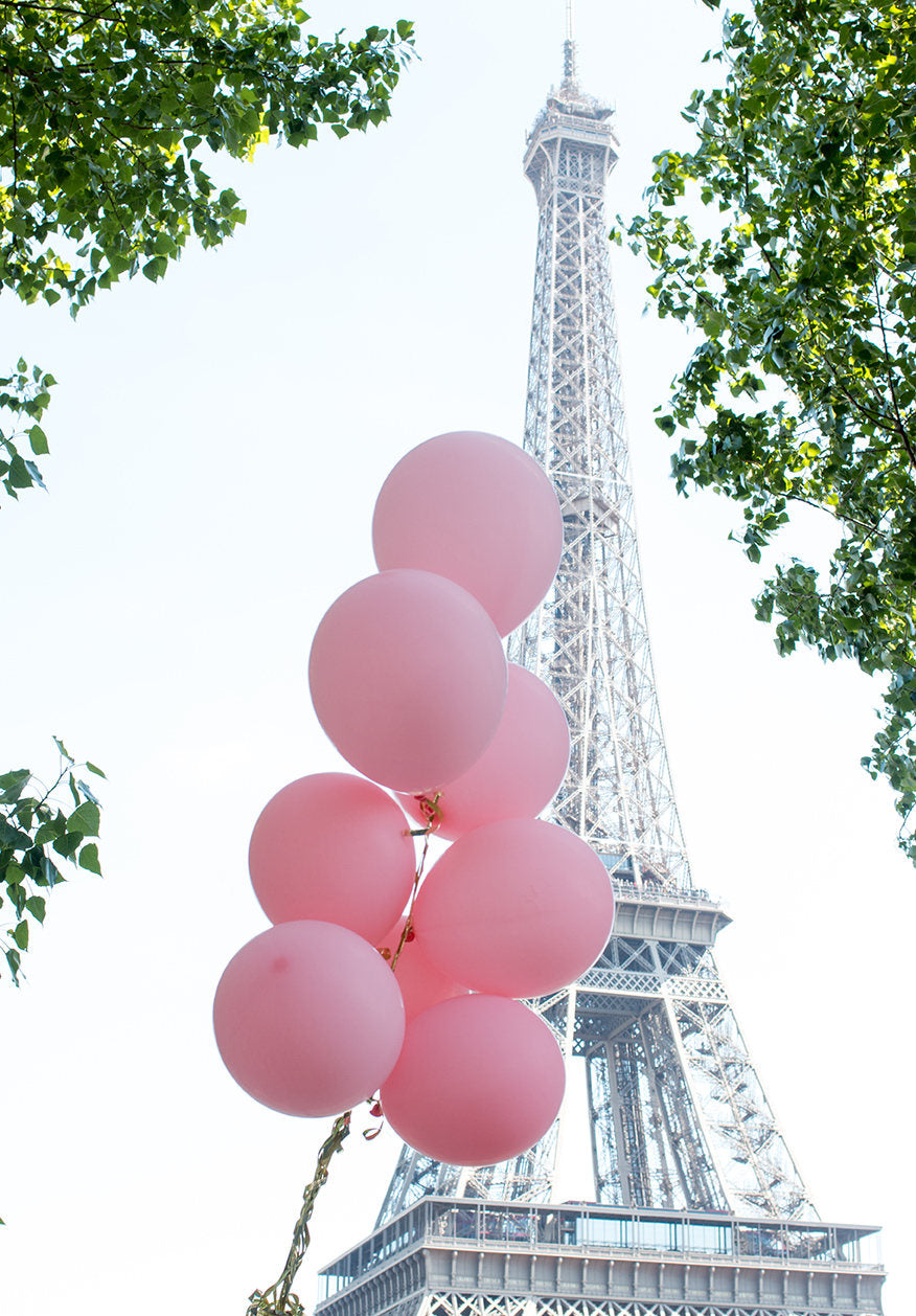 Pink Balloons in Paris - Every Day Paris