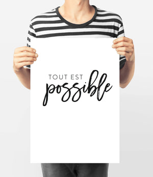Tout est Possible - Every Day Paris