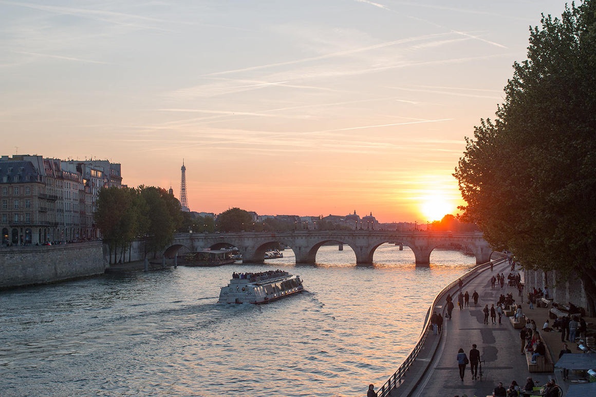 Sunset on the Seine - Every Day Paris