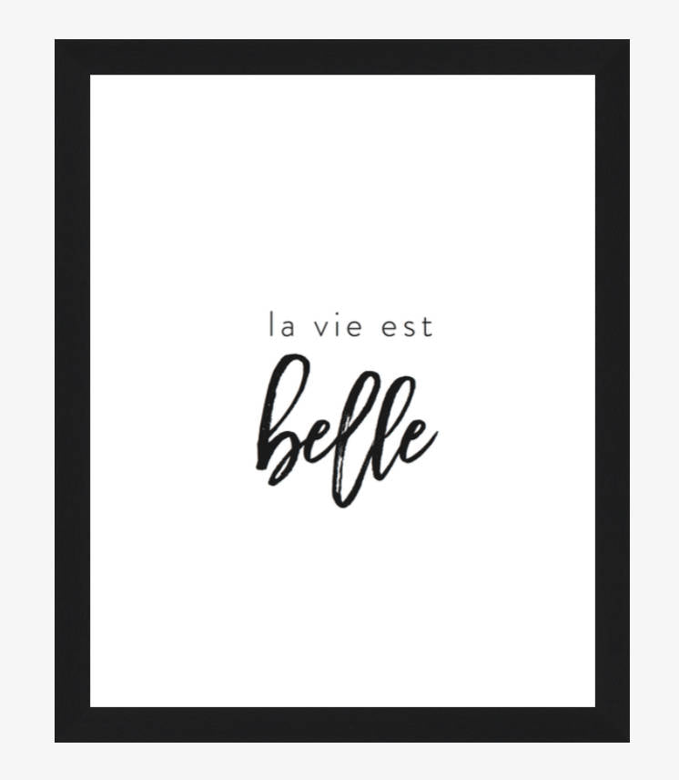 La Vie est Belle - Every Day Paris
