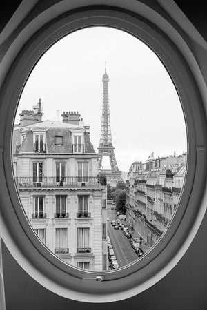 Eiffel Tower Room with a View - Every Day Paris