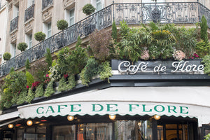 Café de Flore on St Germain Des Prés Classic Paris Cafe - Every Day Paris