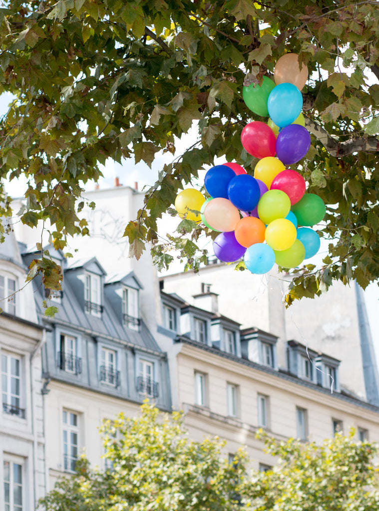 Balloons on St Germain de Prés - Every Day Paris