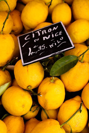 Yellow Lemons in Nice France - Every Day Paris