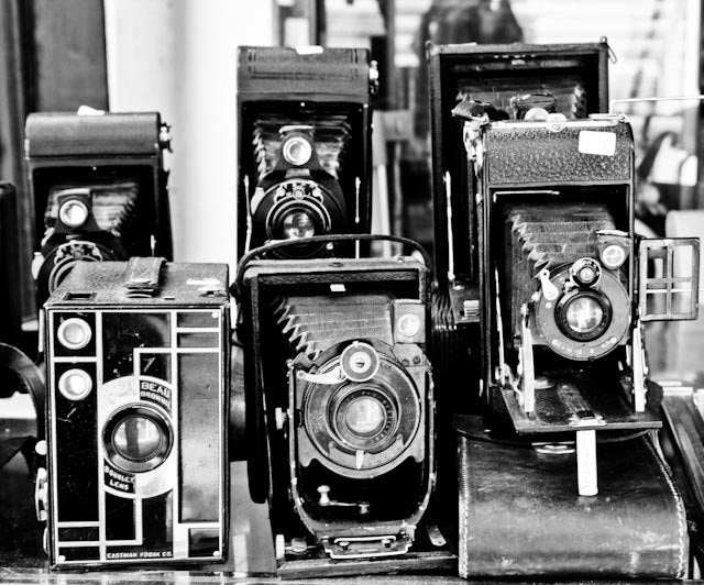 Vintage Cameras at The Paris Flea Market - Every Day Paris