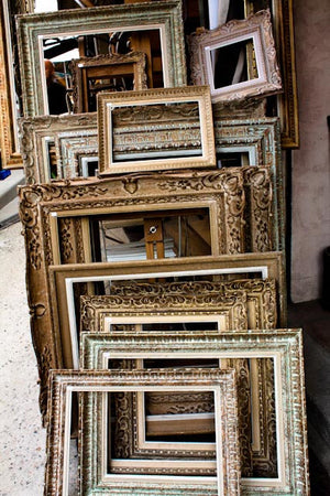 Antique Frames at The Paris Flea Market - Every Day Paris