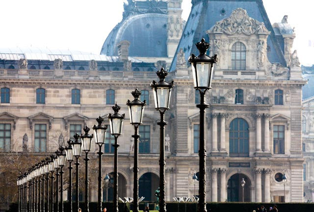 Early Morning Light at The Louvre - Every Day Paris
