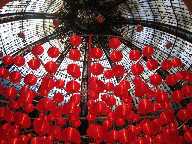 Red Lanterns in Paris - Every Day Paris