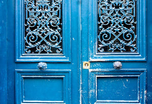Blue Doors in Paris - Every Day Paris