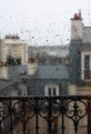 Montmartre Apartment in the Rain - Every Day Paris