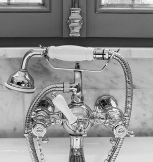 French Hot and Cold Bathroom Faucet Set of 4 - Every Day Paris