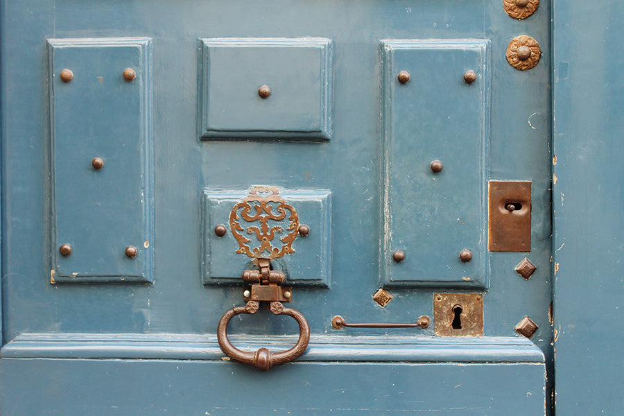 Robins Egg Blue Doors in Paris - Every Day Paris