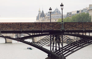 Morning on the Seine on The Pont des Arts - Every Day Paris