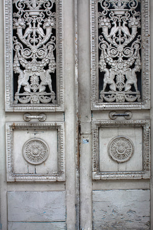 Rustic Grey Door in Paris - Every Day Paris