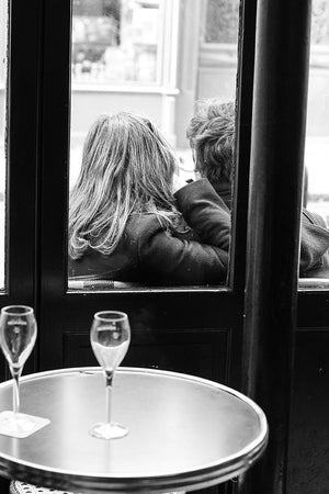Lovers in a Paris Café - Every Day Paris