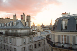 Sunset over the Parisian Rooftops on St Germain - Every Day Paris