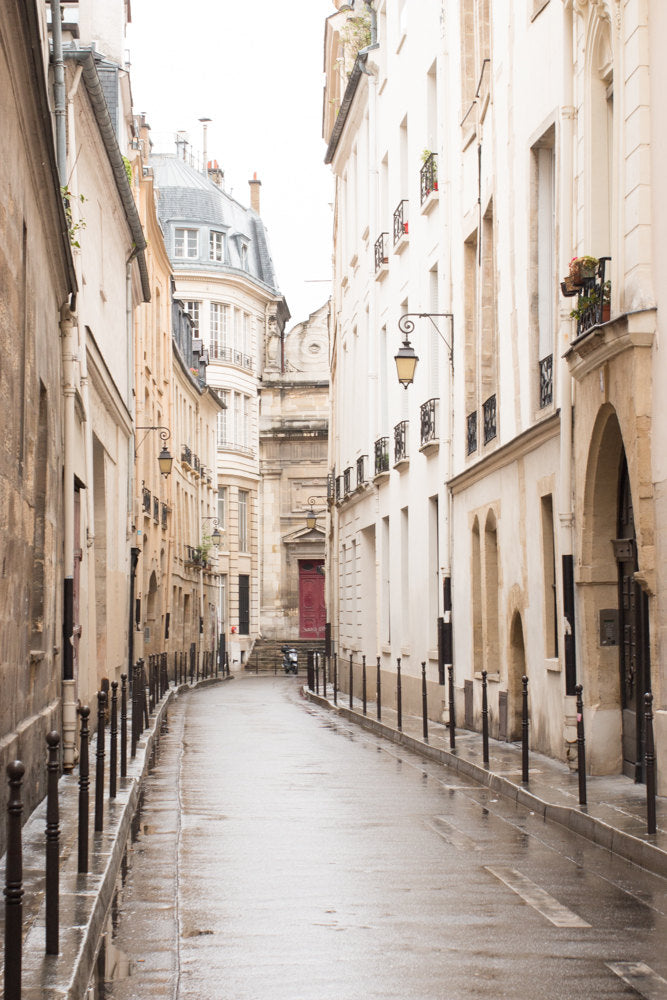 Rainy Morning in the Marais