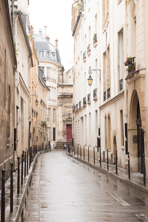 Rainy Morning in the Marais - Every Day Paris