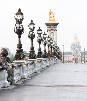 Crossing the Seine on Pont Alexandre III - Every Day Paris