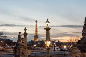 Sunset in Paris at Place de le Concorde - Every Day Paris