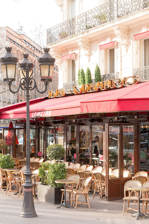 Paris Café on the Left Bank - Every Day Paris