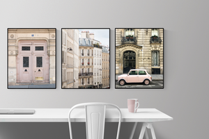 Paris Pink Print Set of 3 - Every Day Paris