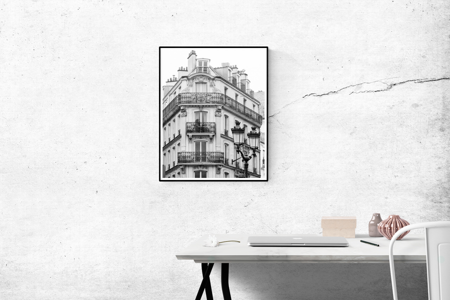 Parisian Apartments in Black and White - Every Day Paris