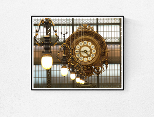 Musee D'Orsay Clock - Every Day Paris