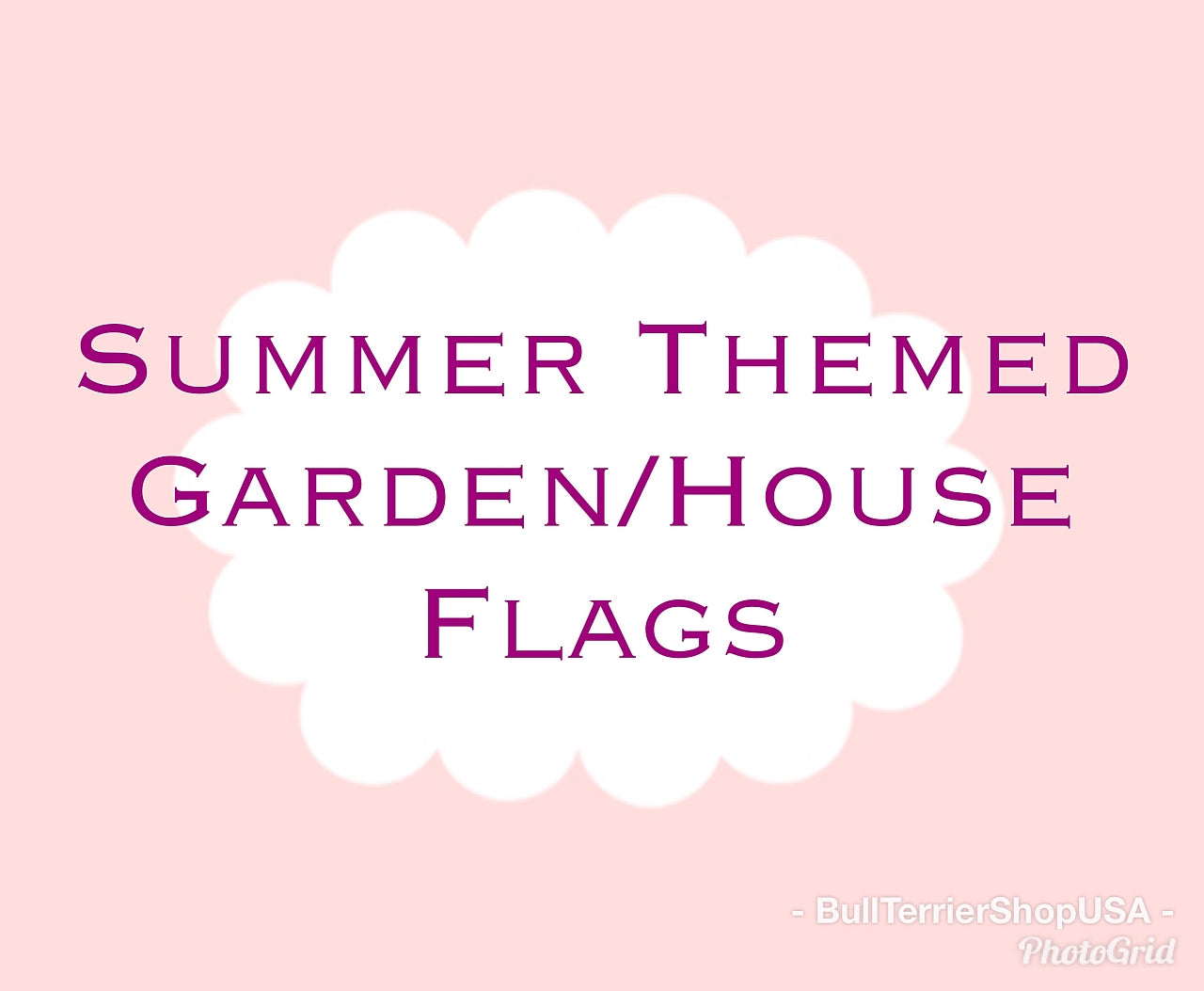 ... Garden   House Flag   Two Sizes   Two Summer Styles ...