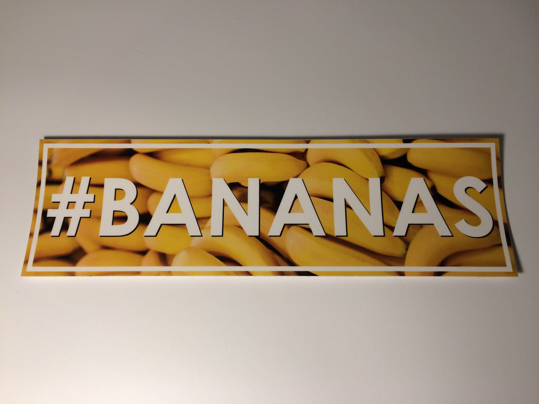#BANANAS Slap Sticker - ToxicVinyls