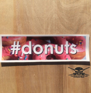 #donuts Slap Sticker