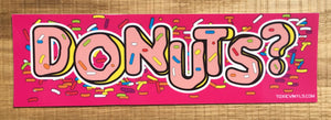DONUTS? Slap Sticker