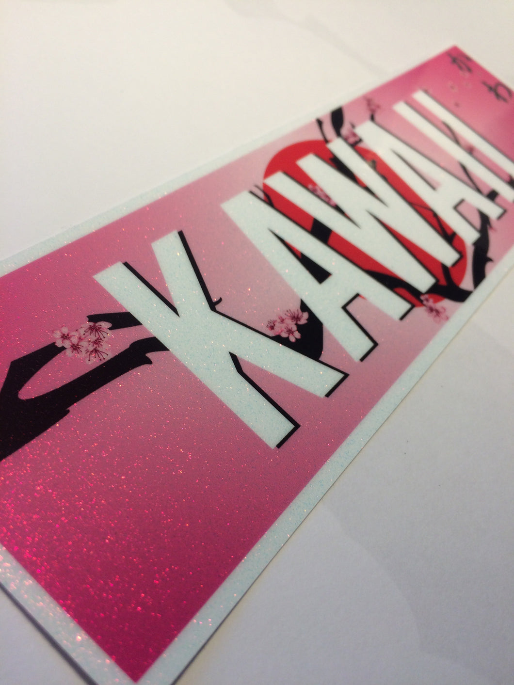 KAWAII Sparkle Slap Sticker - ToxicVinyls