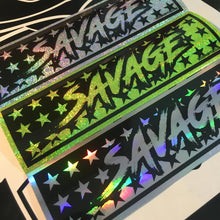 SAVAGE slap sticker by toxicvinyls.com