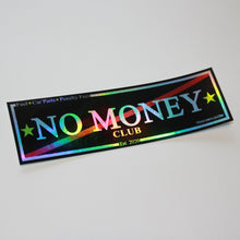 No money club car slap sticker by toxicvinyls