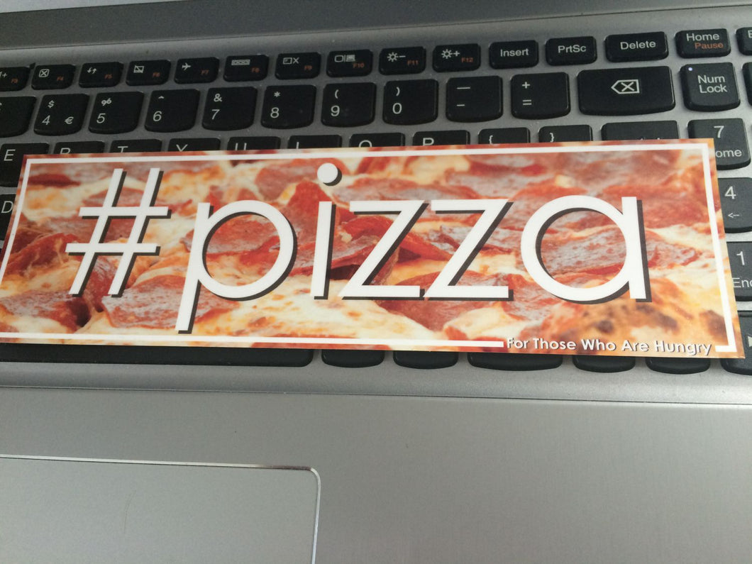 #pizza Slap Sticker - ToxicVinyls slap sticker