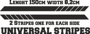 Universal car stripes design 1