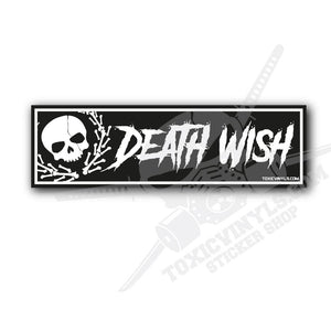 death wish slap sticker