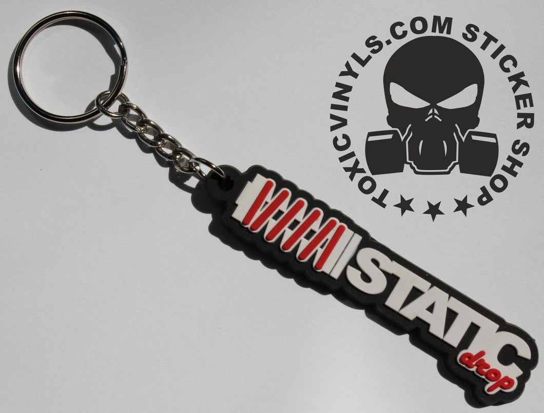 Static Drop Suspension Keyring
