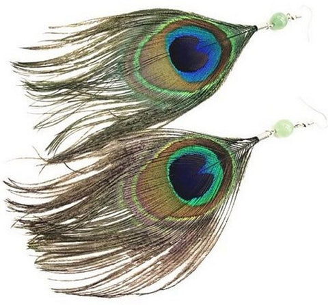 Peacock Earrings (Set of 5 pairs)
