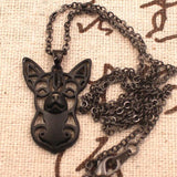 Chihuahua Necklace Headstudy
