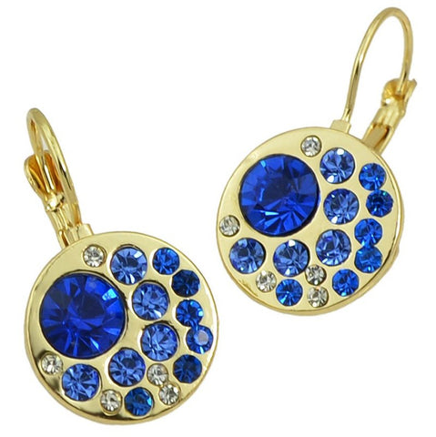 Blue Earrings (set of 5 pairs)
