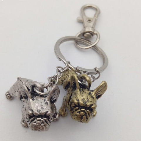French Bulldog Key Chains and Necklace